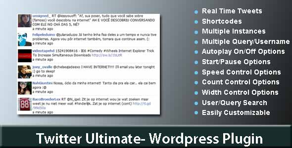 Twitter Ultimate WordPress Plugin