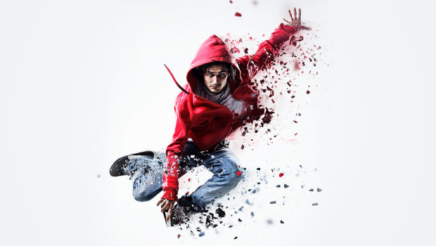 Photoshop Action of the Day: Dispersion Photo Effects