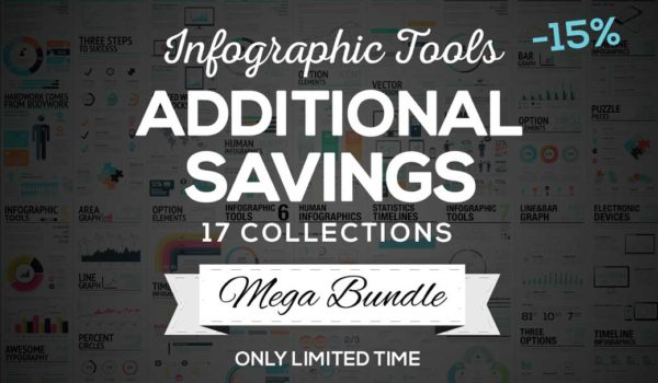 Bundle for Greatness: 17 Infographic Vector Template Sets