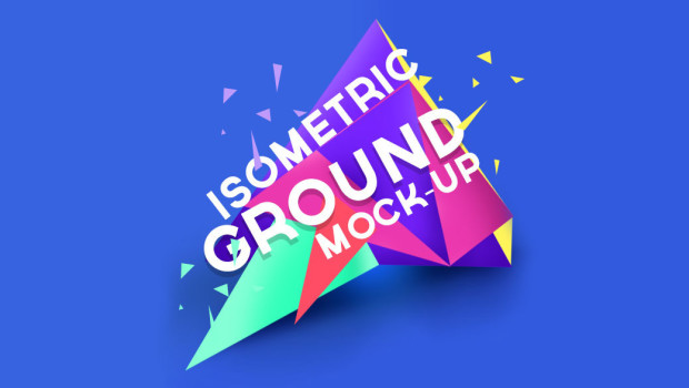 Photoshop Action of the Day: Isometric Ground Mockup