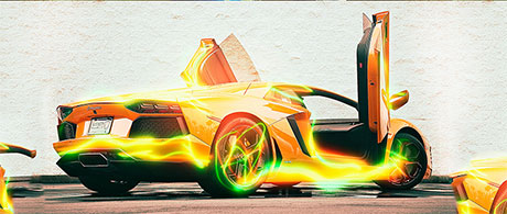 Photoshop Action of the Day: Light Streak Effects