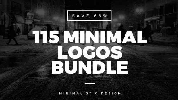 Bundle for Greatness: 115 Minimal Vintage Logos