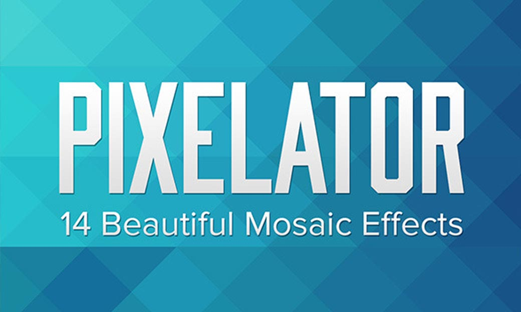 Photoshop Action of the Day: Pixelator Mosaic Effects