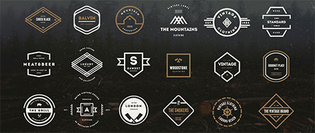 Bundle for Greatness: 73 Vintage Logos Badges