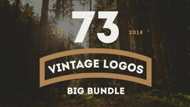 Bundle for Greatness: 73 Vintage Logo Badges
