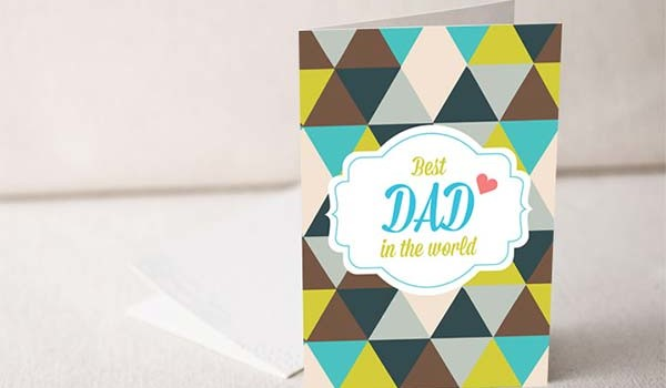 10 Creative Father's Day Greeting Card Design Ideas