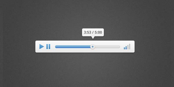 How to Design a Clean and Elegant Audio Player in Photoshop