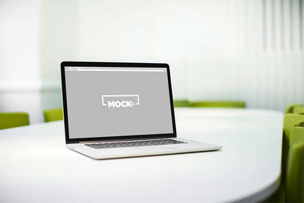 Business Macbook Mockup Set