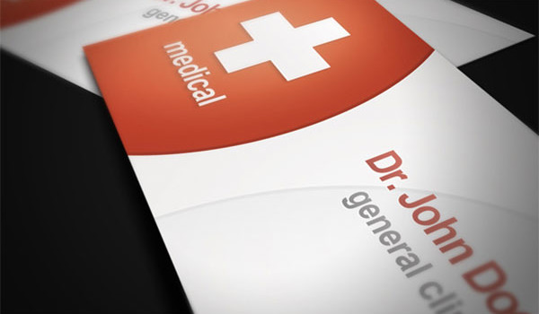 20 Personalized Medical Business Cards Design Ideas