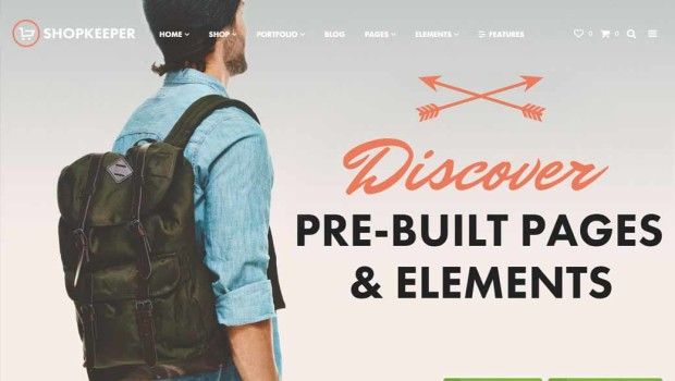 WordPress Wednesday: ShopKeeper eCommerce Theme