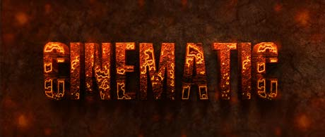 Photoshop Action of the Day: 3D Burning Text Effects