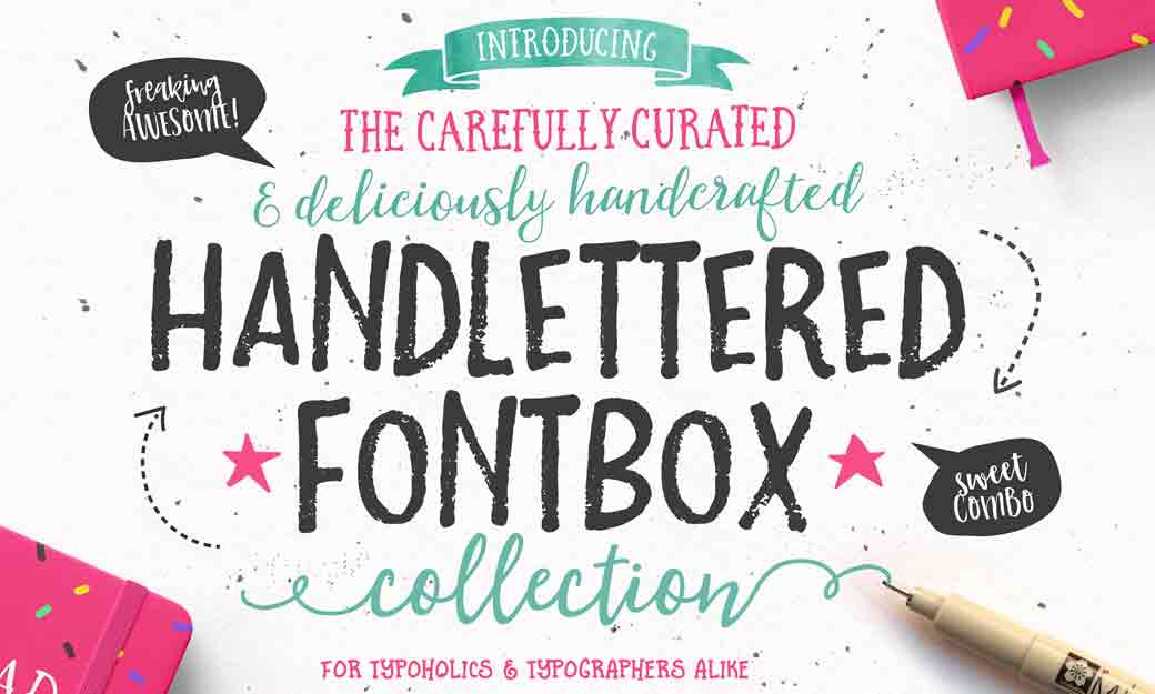 Bundle for Greatness: The Handlettered Fontbox