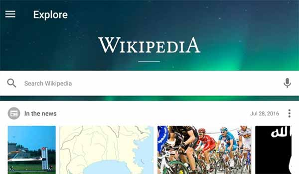 The Newly Redesigned Wikipedia Android App