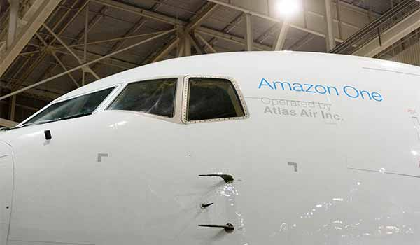 Amazon One - Amazon's First Ever Branded Air Cargo Plane