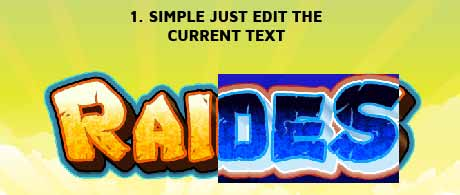 Photoshop Action of the Day: Game Logo Text Styles