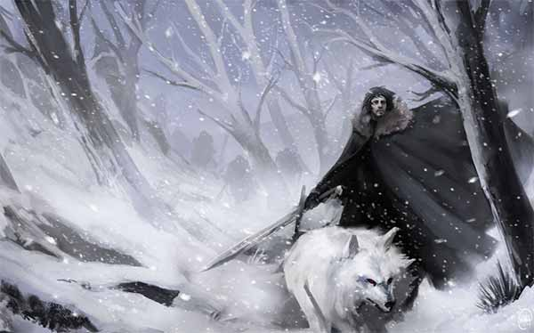 Fan Art of Jon Snow