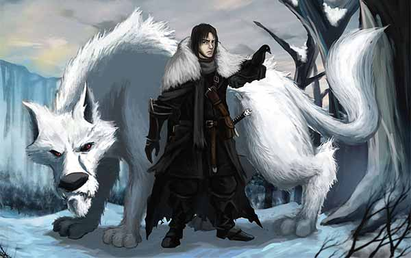 Lord Commander Jon Snow