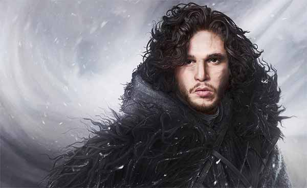 Jon Snow Digital Painting