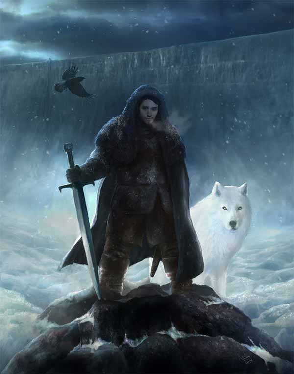 Jon Snow - A Song of Ice and Fire