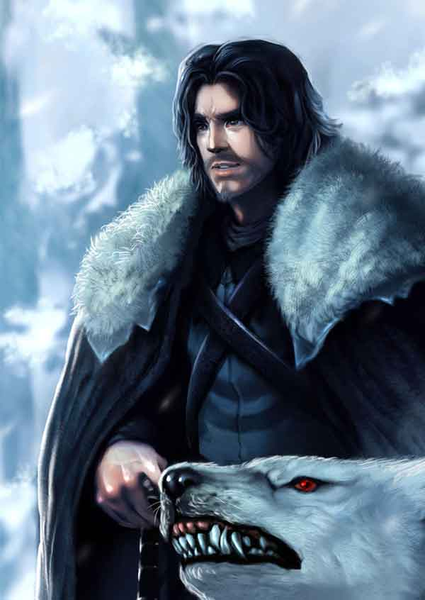 Jon Snow Illustration