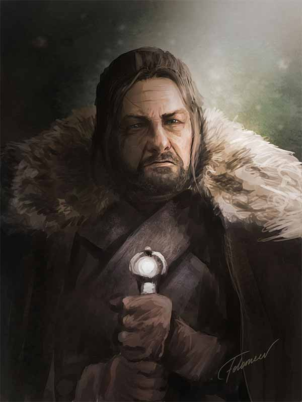 Ned Stark Digital Painting