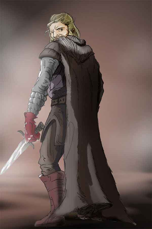 Ned Stark Character Artwork