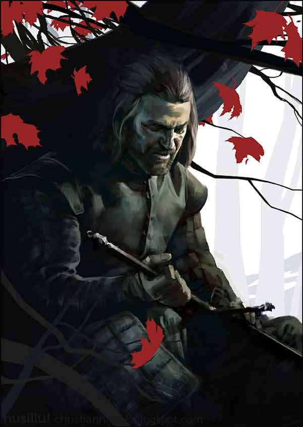 Game of Thrones - Ned Stark Artworks
