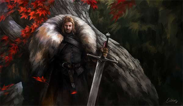 Eddard Stark Graphic Design