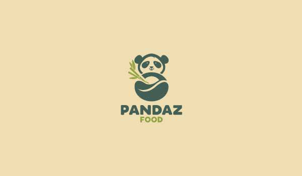 Pandaz Food Logo