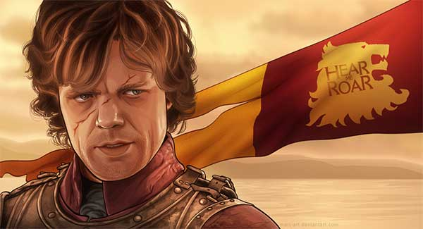 Tyrion Lannister Vector Cartoon