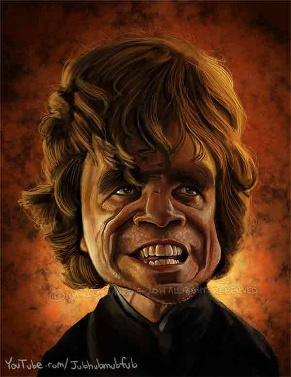 Tyrion Lannister Caricature