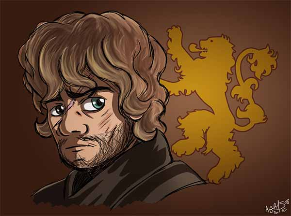 Tyrion Lannister Cartoon