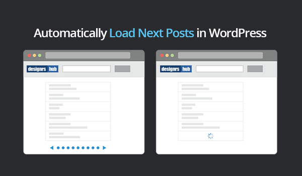 Automatically Load Next Posts in WordPress With SEPS