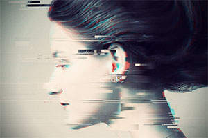 Photoshop Action of the Day: TV Glitch Photo Effects