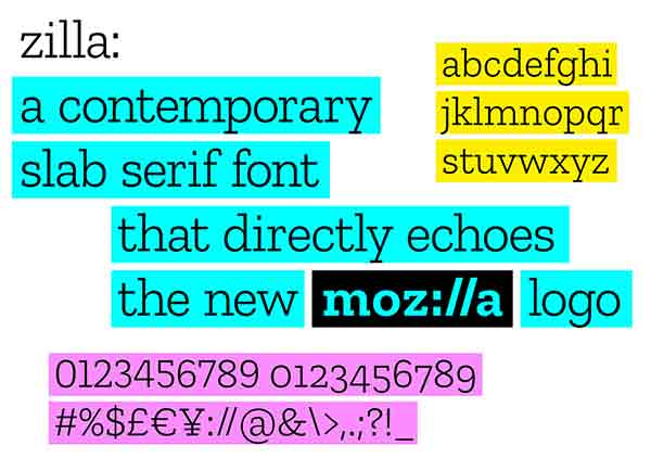Moz://a - Introducting Mozilla's New Mark and Identity