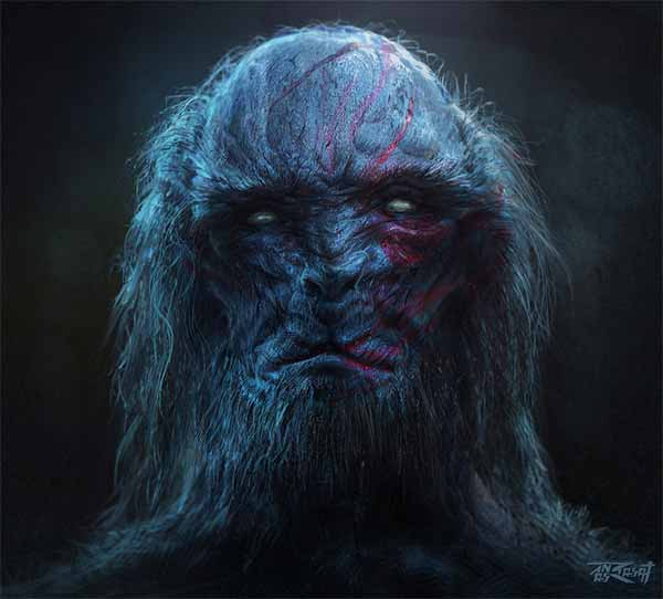 The White Walker from Game of Thrones