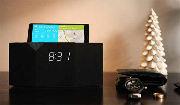 BEDDI: Smart Radio Alarm Clock Speaker