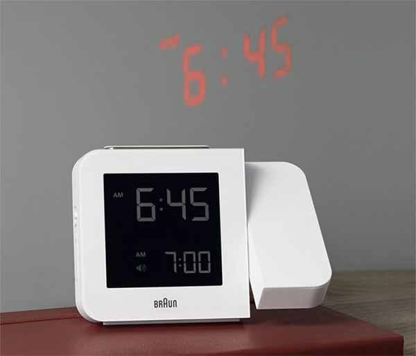 Braun Projection Quartz Clock