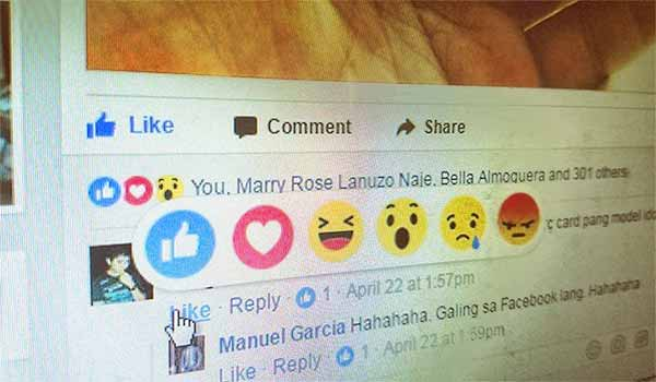 "Facebook Extends ""Reaction Button"" Feature to Comments"