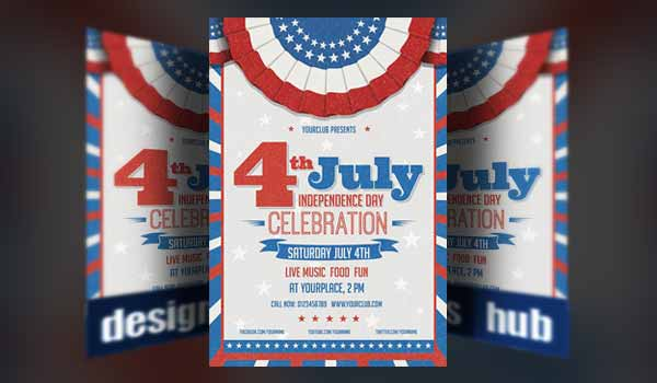 July 4th and Memorial Day Flyer