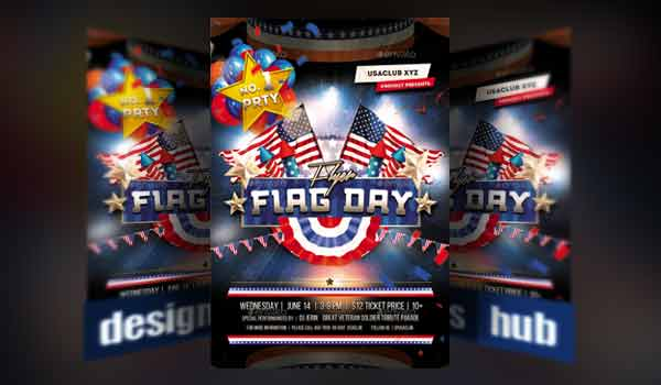 Flag Day 4th of July Flyer