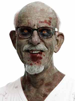 Photoshop Action of the Day: Zombie Face Effect