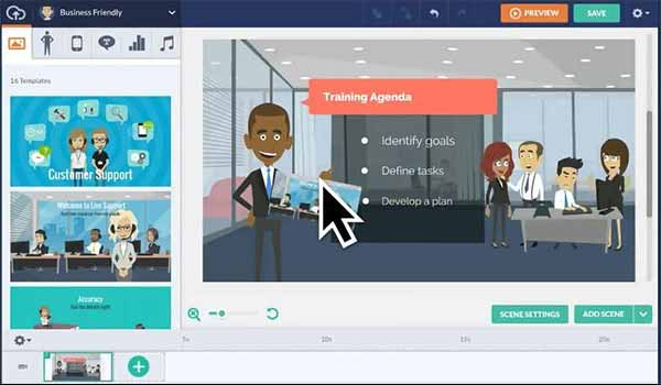 Go Animate - Create Animated Videos for your Business
