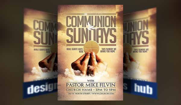 20 Church Flyer Templates for Service And Event Promotions