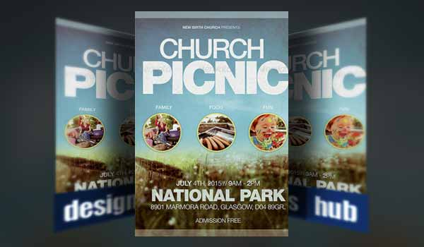 Church Picnic Flyer Divingexperience