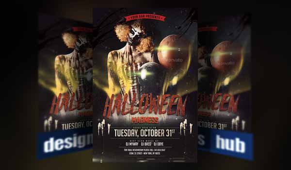 20 Latest Halloween Party Flyer Templates for 2017