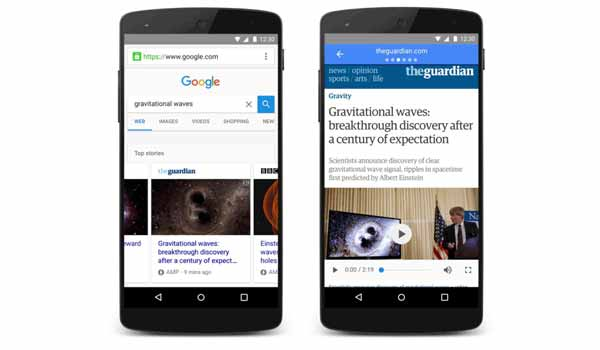 Set up accelerated mobile pages (AMP)