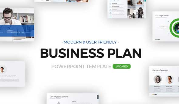 15 highly effective business plan powerpoint presentation templates business plan powerpoint template friedricerecipe Image collections