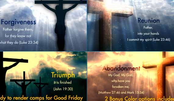 after effects lyric video template - holy week and easter specials 15 worship after effects
